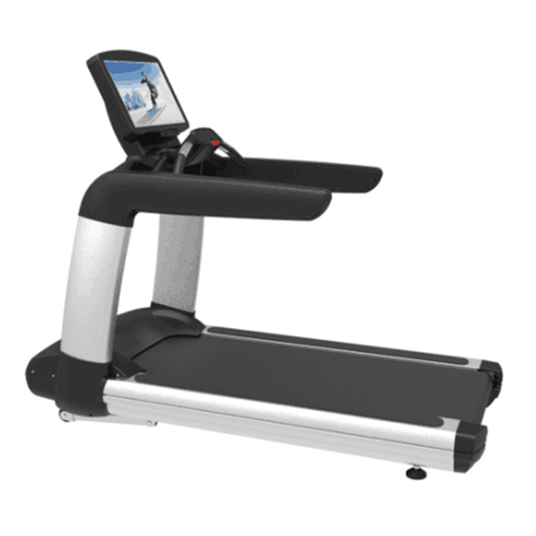 Touch screen commercial treadmill with WIFI CM-607