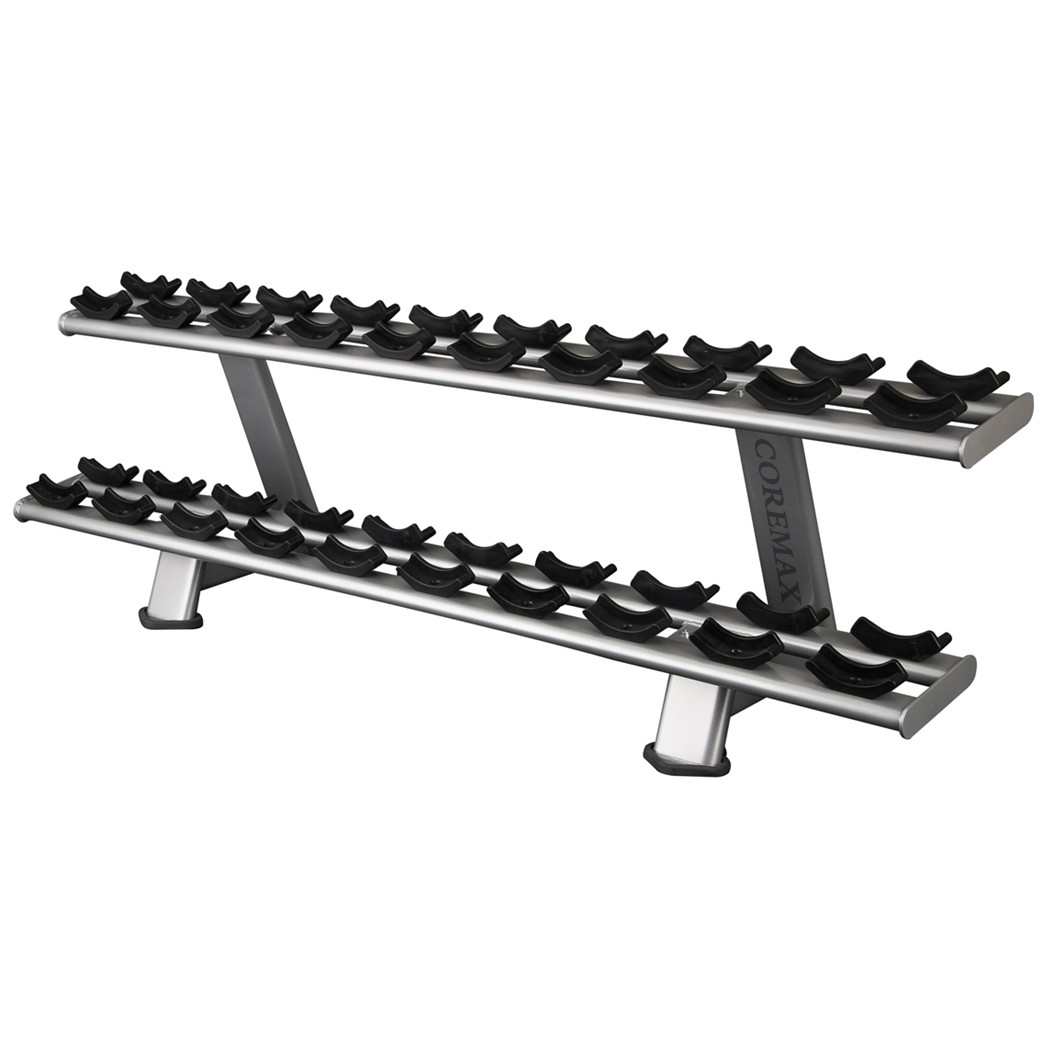 CM-339 Double Layer 10 Pairs Dumbbell Rack