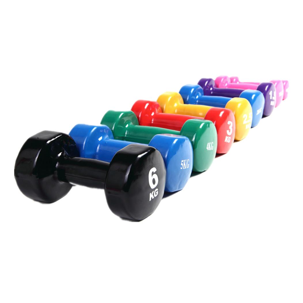 CM-842 Aerobic  Plastic Dumbbells