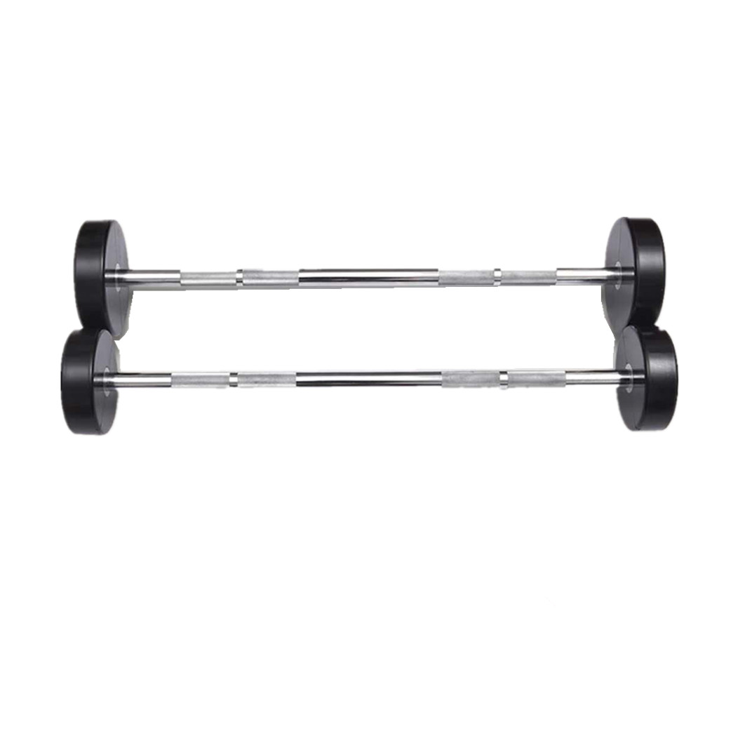 CM-832 Life Fitness PU  Straight Barbell